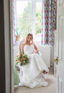 Bridal prep wedding photography.
